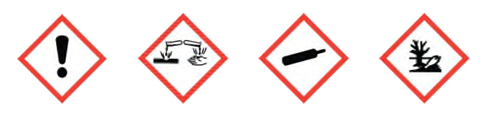 Anhydrous Ammonia Pictogram